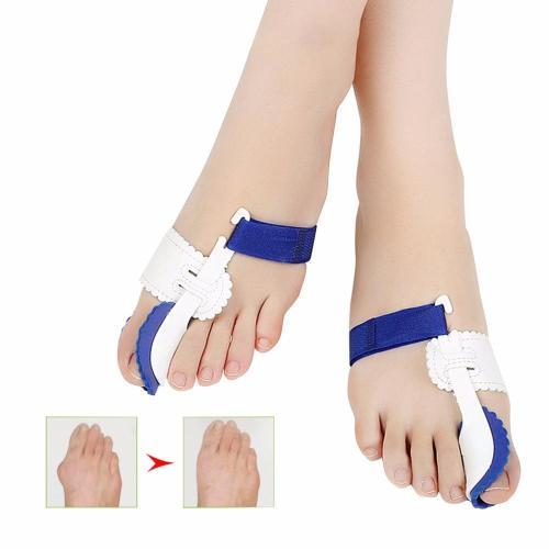 1 Pair Toe Straightener Bunion Adjustable Orthotics Hallux Valgus Corrector Bone Thumb Toes Separator Braces & Supports