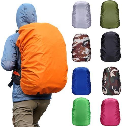 35L Backpack Rain Cover Waterproof Bag Climbing Hiking Traveling Camp Camo Print Reflective Outdoor Wild Tactic Dropship#0618
