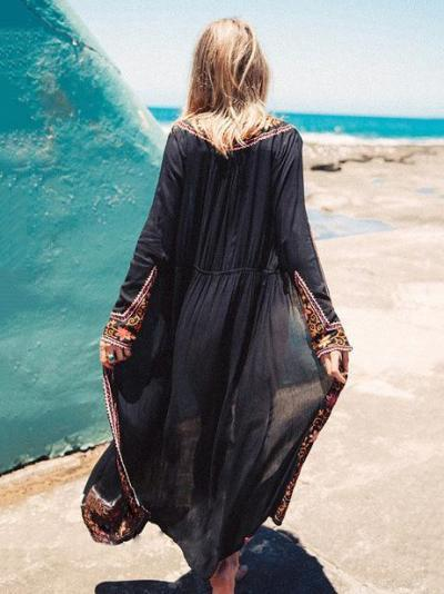 Fashion Embroidered Bohemia Outwear