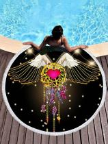 Flying Dream Catcher Printed Beach Mats