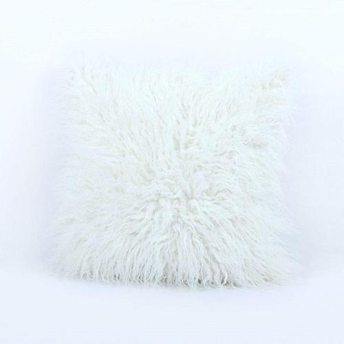 Plush Plain Pillowcase