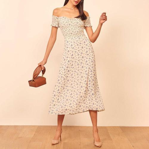 Fashion word collar tube top dress