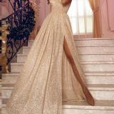 Sexy Sling Off-the-shoulder Evening Maxi Dress