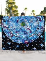 Vintage Printed Blanket Beach Mat Yoga Mat