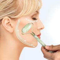 Facial Massage Jade Roller Natural Facial Beauty Massage Tool Jade Roller Face Thin massager Facial Massage  dropshipping