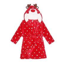 Kids Pajamas Flannel Night Bath Homewear Robe Sleepwear