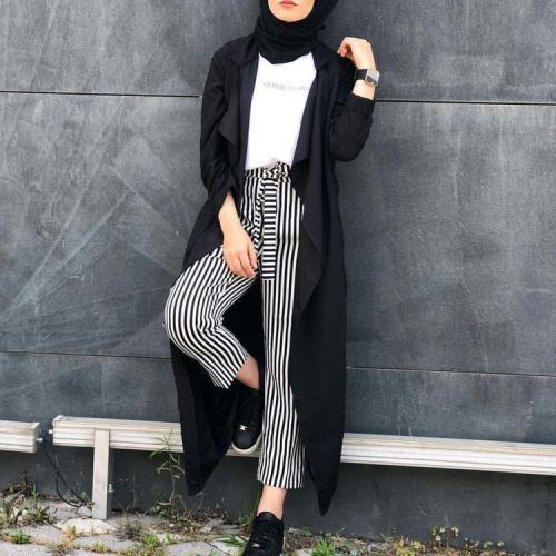 Fashion Pure Colour Long Sleeve Cardigan