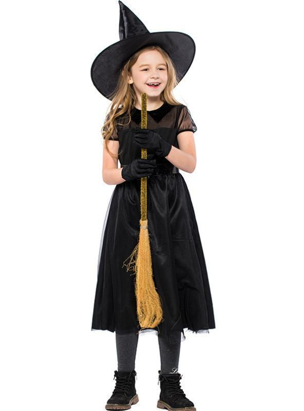 Halloween Children's Witch Costume Small Hag