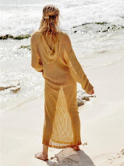 Hollow Sexy Knitting Beach Cover-up Swimwear