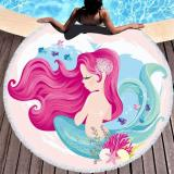 Rose of the cartoons of the Mermaid Towels of Microfibre Toalla Big Wheel Beach Towels for Adults Presents of the Summer Kids