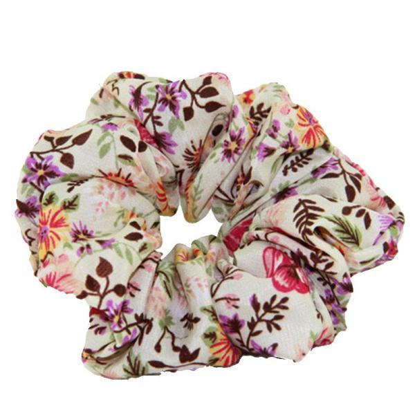 EBUYTIDE EBUYTIDE 5Pcs/Lot Scrunchie 6 Colors 2020 Women Hair Tie Ponytail Hair Holder Rope Fashion Hair Accessories FC002