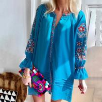 Fashion Inwrought Loose Belted Dresses