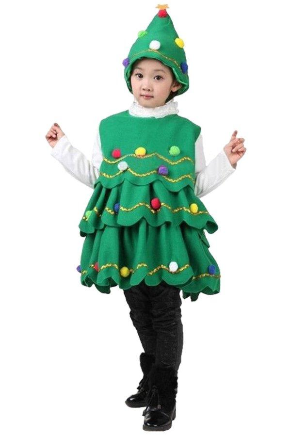 Kids Christmas Santa Costume Toddler Santa Claus Costume Suit