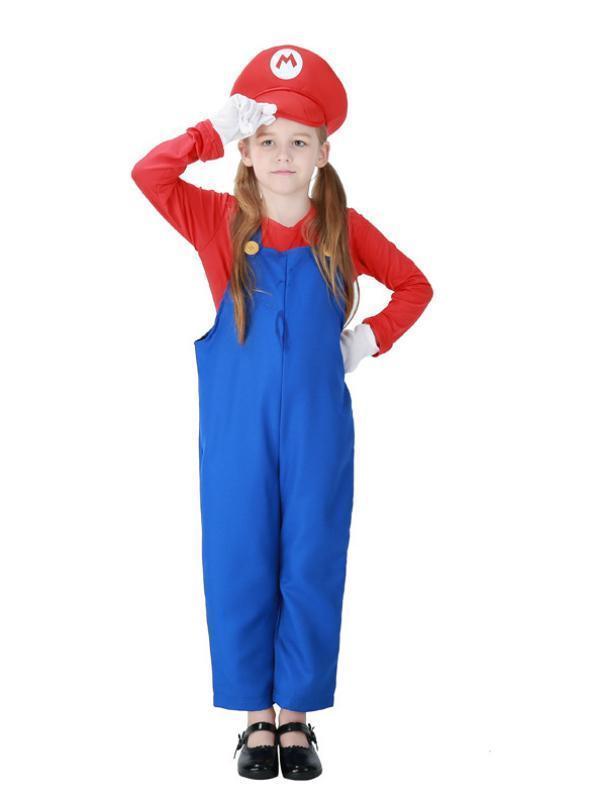 Halloween Mario Louis Brothers Children Cosplay