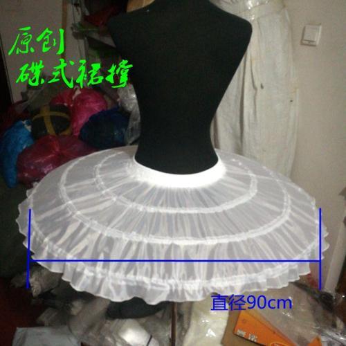 Petticoat Girl 3 Layers Hoopless Three Layers Net White Ball Gown Flower Girl Dress Crinoline for Wedding Party Underskirt 2020