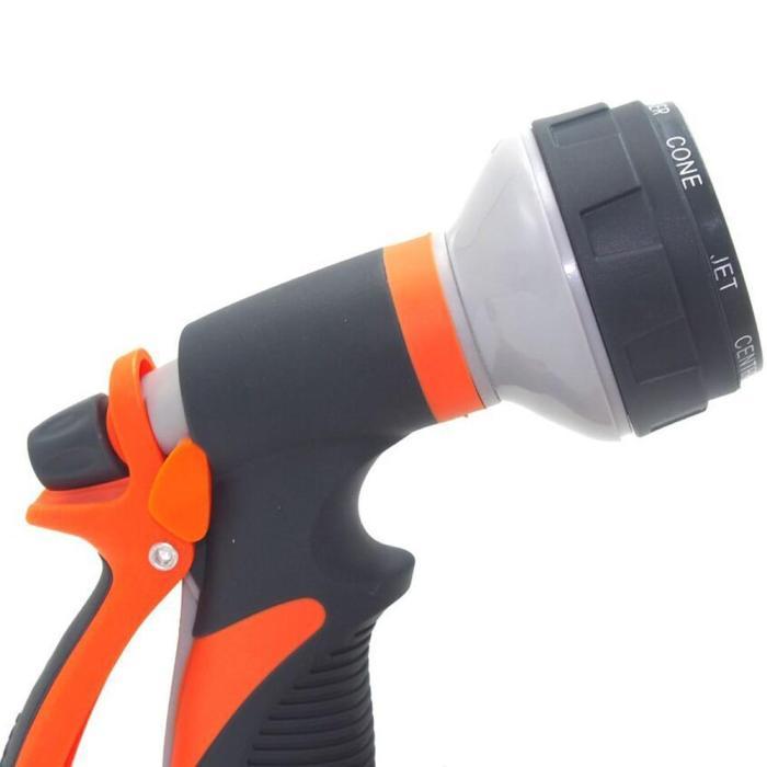 8 Patterns Water Nozzle Water Gun Head Hose Sprayer Pressure Washer Garden Spray Auto Car Washing Gardening Tools And Equipment