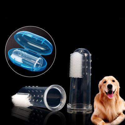 5 pcs Rubber Pet Finger Toothbrush Dog Toys Environmental Protection Silicone Glove Dogs and Cats Clean Teeth Toys Pet Products