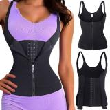 Women Body Shaper Shapewear Waist Training Trainer Cincher Underbust Corset Vest Neoprene Firm Bodysuits Trainer Shapewear Lady