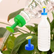 Gardening Plant Watering Attachment Spray-head Soft Drink Bottle Water Can Top Waterers Seedling Irrigation Equipment