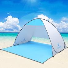 Automatic Beach Tent Shelters Camping UV Protection Pop Up Tent Sun Shade Awning Travel Tourist Camping Tents Shelter XA195A
