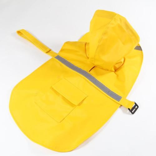 Reflective tape large dog raincoat dog coat pet clothes dog raincoat teddy bear big dog rain coat factory direct sale XS-XXXL