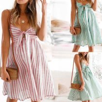 Maternity Clothes Pregnancy Dress Comfortable Sundress Women Maternity Sleeveless Suspender Striped Sexy Vest Straps Dress