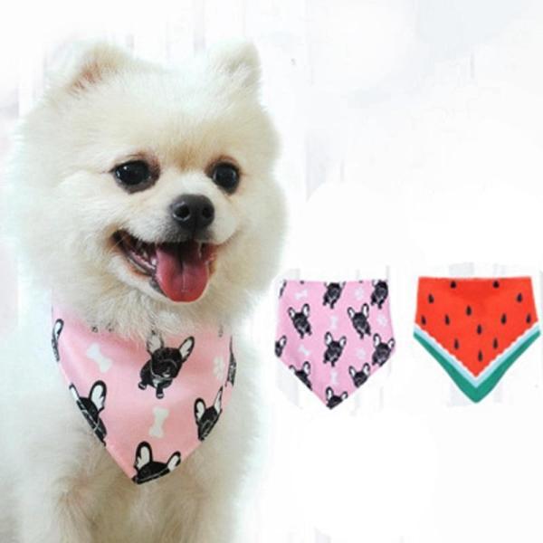 Adjustable Pet Scarf Grooming Costume Towel for Small Medium Dogs Accessories Cat Dog Neckerchief Bandana Bibs Scarf Collar Hot