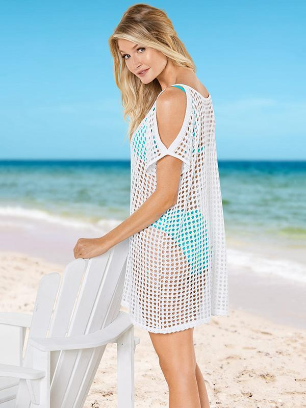 See-through Hollow Cover-up Swimwear
