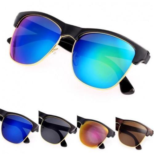 Women's European Style Round Big Lens Eyewear Shades Sunglasses