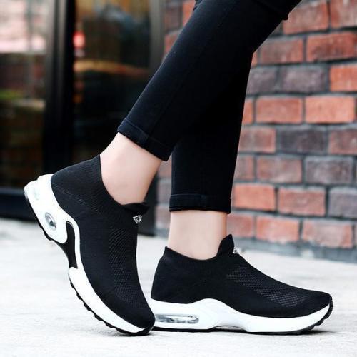 EBUYTIDE Non-Slip Casual Soft Air Shock Sneakers