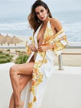 Thong Backless One-piece Swimsuit And Cover-Up Suits
