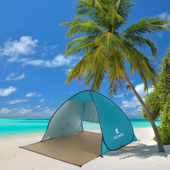 Large Beach Sun Shelter   Pop Up Beach Tent   Beach Pop Up Tent