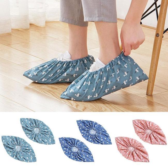 2019 hot shoes reusable storage unisex rain boots waterproof non-slip boots boots machine washable cloth shoe bag shoe cover