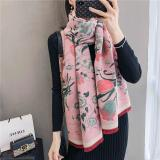 Fashion Winter Scarf Women Cashmere Warm Pashmina Foulard Lady Luxury Horse Scarves Thick Soft Bufanda Shawls Wraps 2020 New