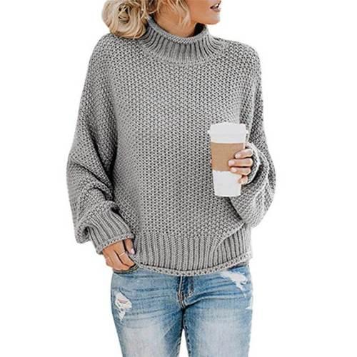 Turtleneck Textured Cozy Women Sweater