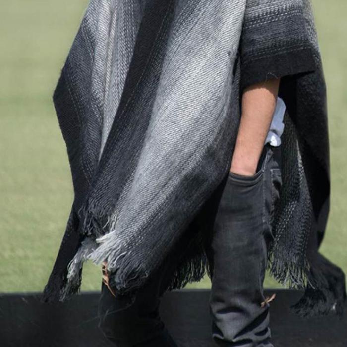 Men's Loose Cloak Type Sweater