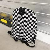 2020 Hot Sale Women Men Unisex Lattice Backpack New Trend checkerboard Teenager School Bag Couples Back Pack Travel Bag