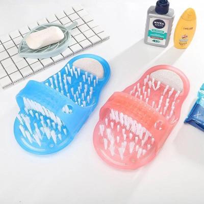 Foot Massager pumice Foot Scrubber Brushes with Pumice Stone
