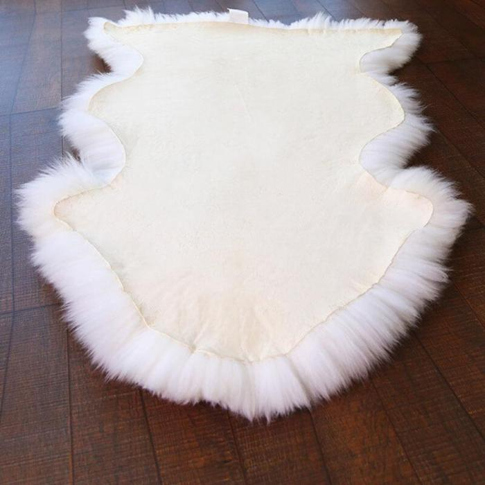 Premium Long Wool Sheepskin Rug