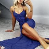 Sexy Slip Slit Evening Dress