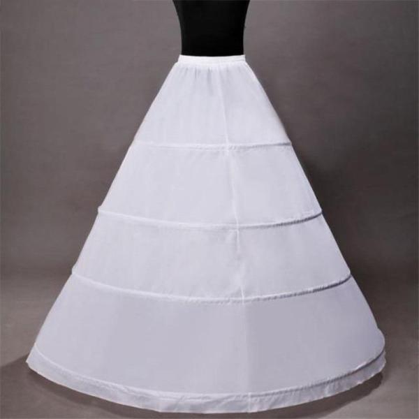 3 Hoops Ball Gown Bridal Wedding Petticoat Marriage Tulle Crinoline Underskirt Wedding Accessories 2020