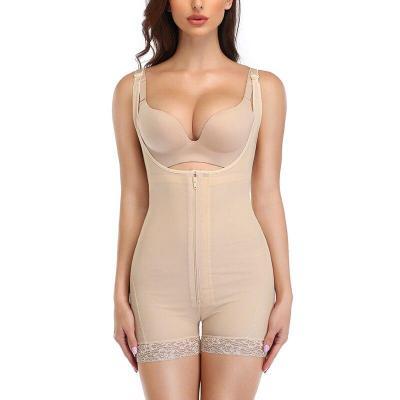 Plus Size Women Full Body Shaper women slimming shapewear waist control bodysuits slim waist trainer tummy girlde butt lifter