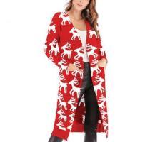 Christmas Print Long-Sleeved Sweater