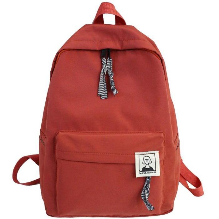 2020 Student Girl Backpack Cute Nylon Harajuku Women School Bag Laptop Ladies Kawaii Backpack Female Book Fashion Bag New Trendy