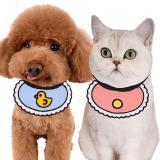 Cute Dog Bandana Bibs For Small Dogs Chihuahua Pet Bandanas Cotton Neckerchief Cute Bibs For Puppies Kitten Bandana Accessory M2