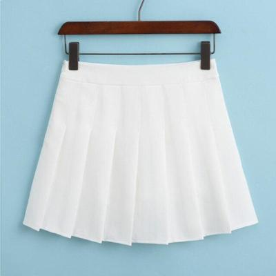Summer High Waist Tenny Skorts Women Pleated Tennis Skirt Uniform with Inner Shorts Underpants for Tenis Skirts