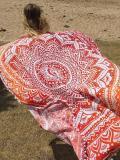 Beautiful Summer Bohemia Round Beach Mat Yoga Mat