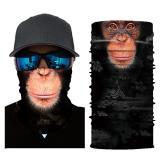 Bandana Scarf Mask 3D Seamless Skull Face Bandana Summer Masks Outdoor Skiing Windproof UV Fishing Protection Hiking Men Women
