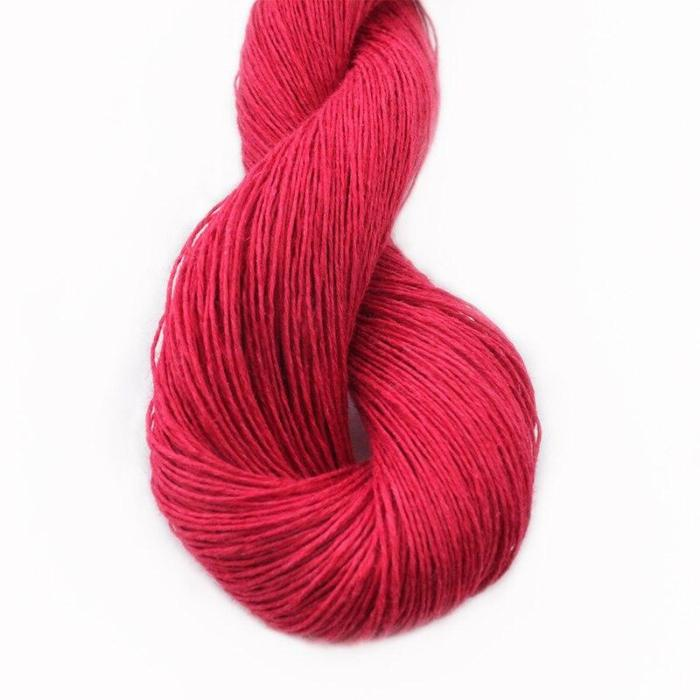 100% Linen Yarn Crochet Hand Knitting Colored  Lace wire 50g Hank For Summer Garments Shawl Baby Clothes Soft and Cool