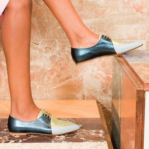 Flat Heel Women Closed Toe Flats